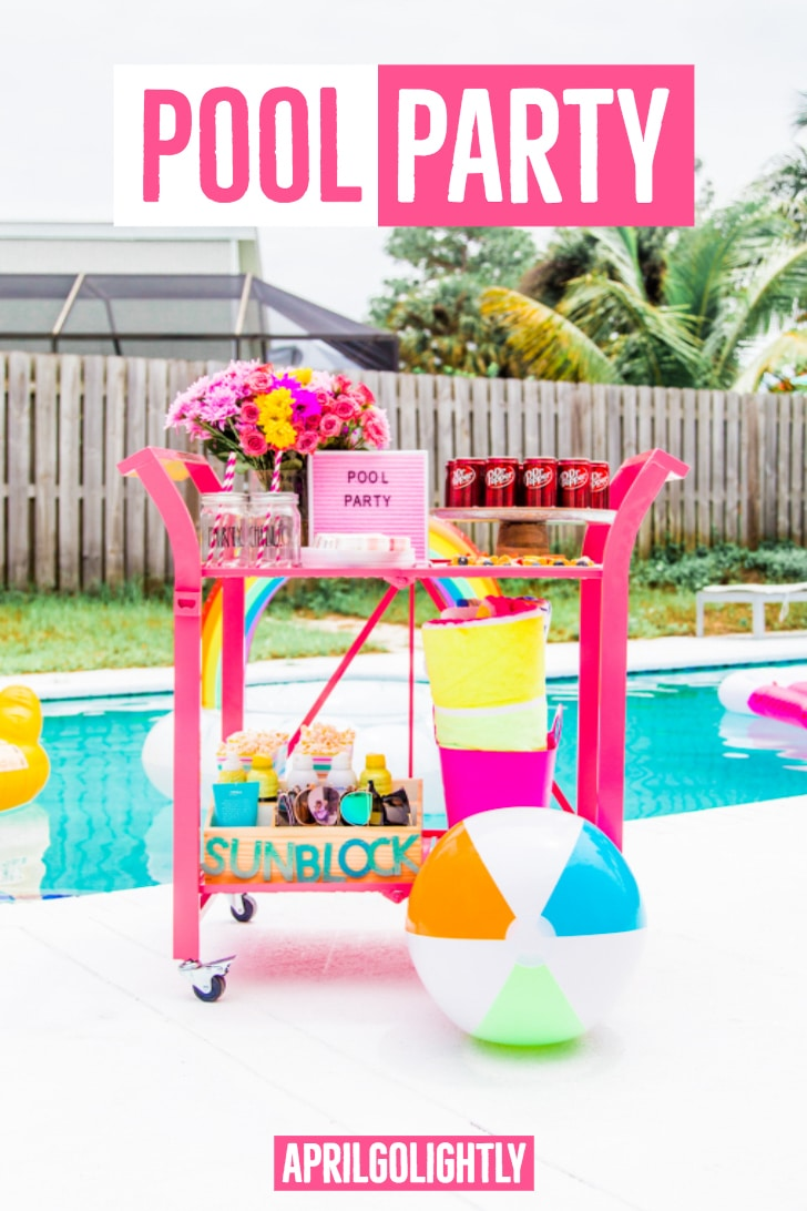 pool party ideas for adults april golightly