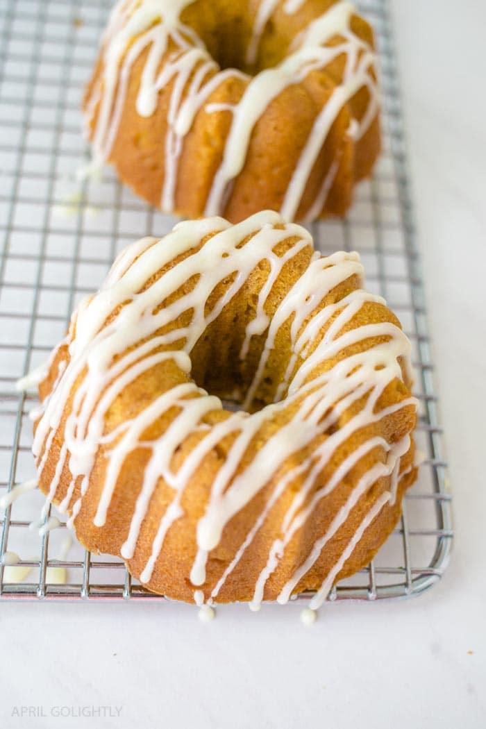 Cream Cheese Bundt Cake Glaze