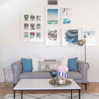 Minted Wall Collage for living room_