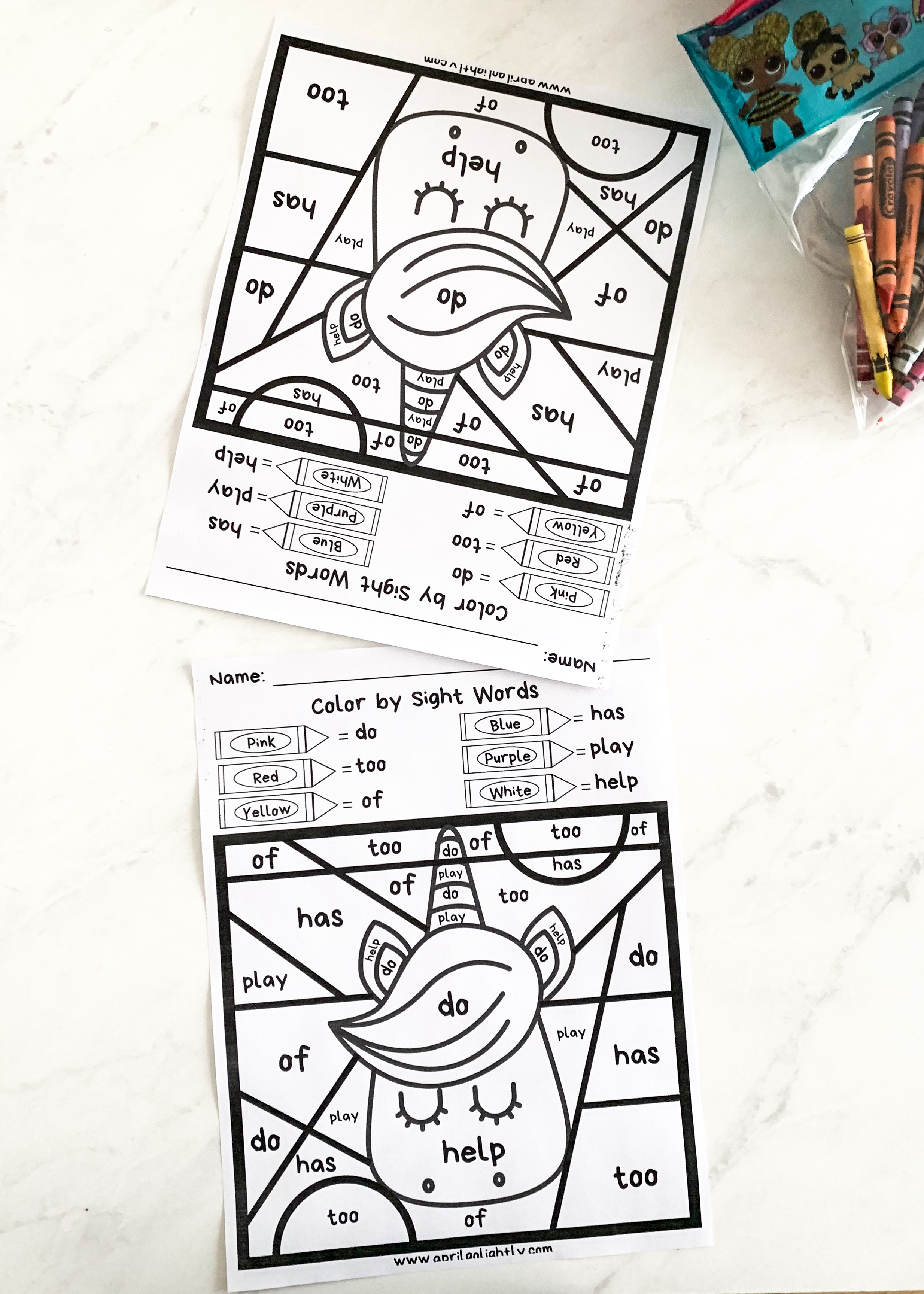 Free Unicorn Printable Coloring Pages