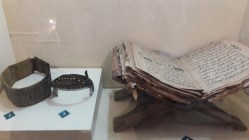 From the right are weri/ba'ba, wangge/mahkota, Al Quran dan Renah