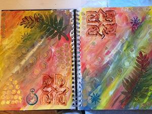 Book of Days in Progress 1