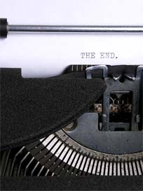 typewriter_the-end