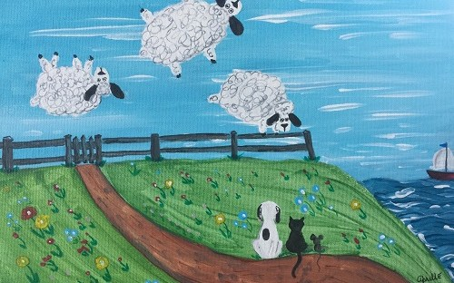 3 Sheeps to the Wind