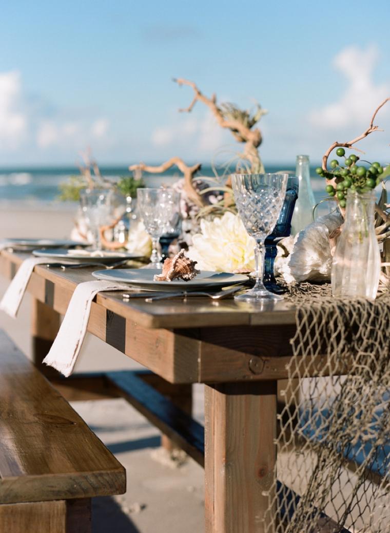 Beach Wedding Motif
