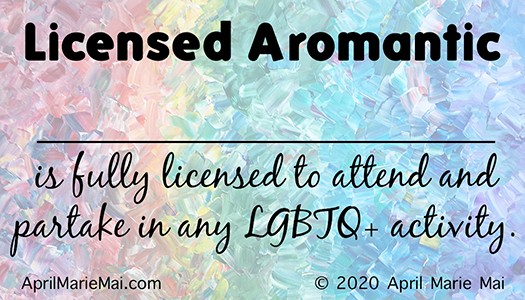 Licensed Aromantic