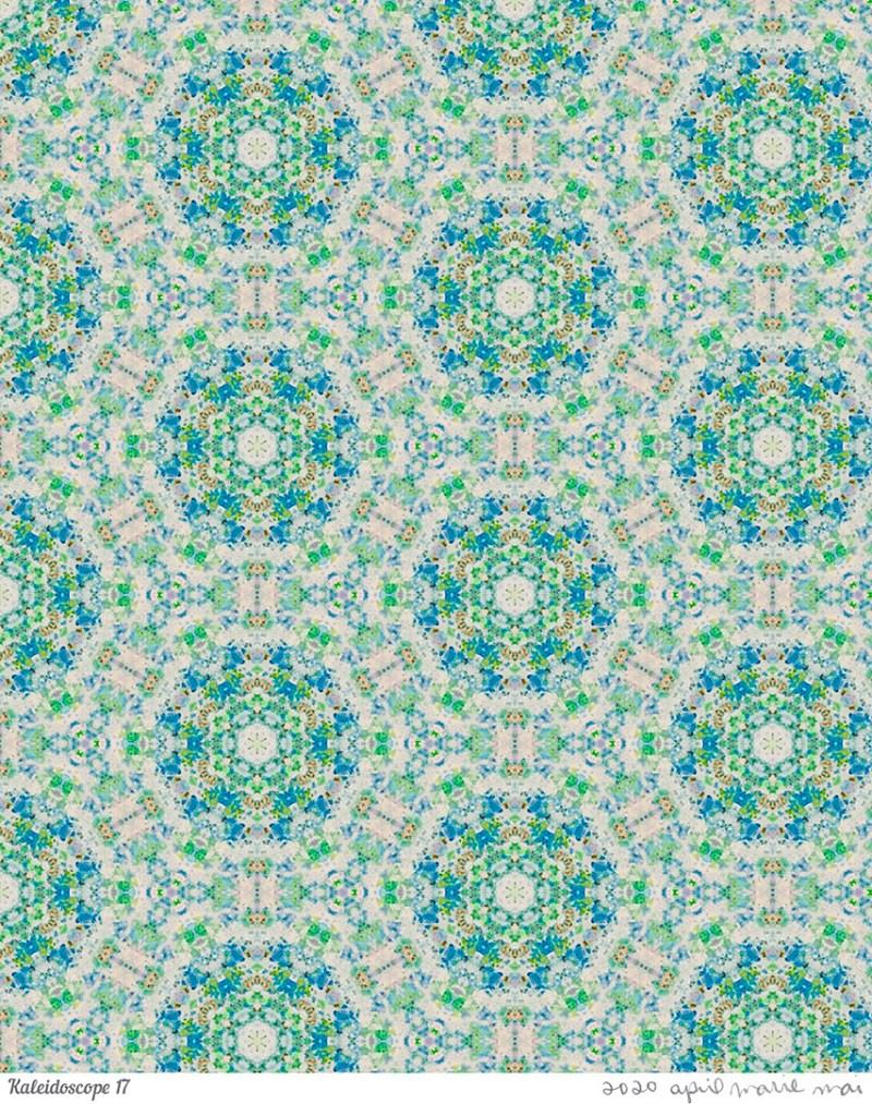 Kaleidoscope 17 Print