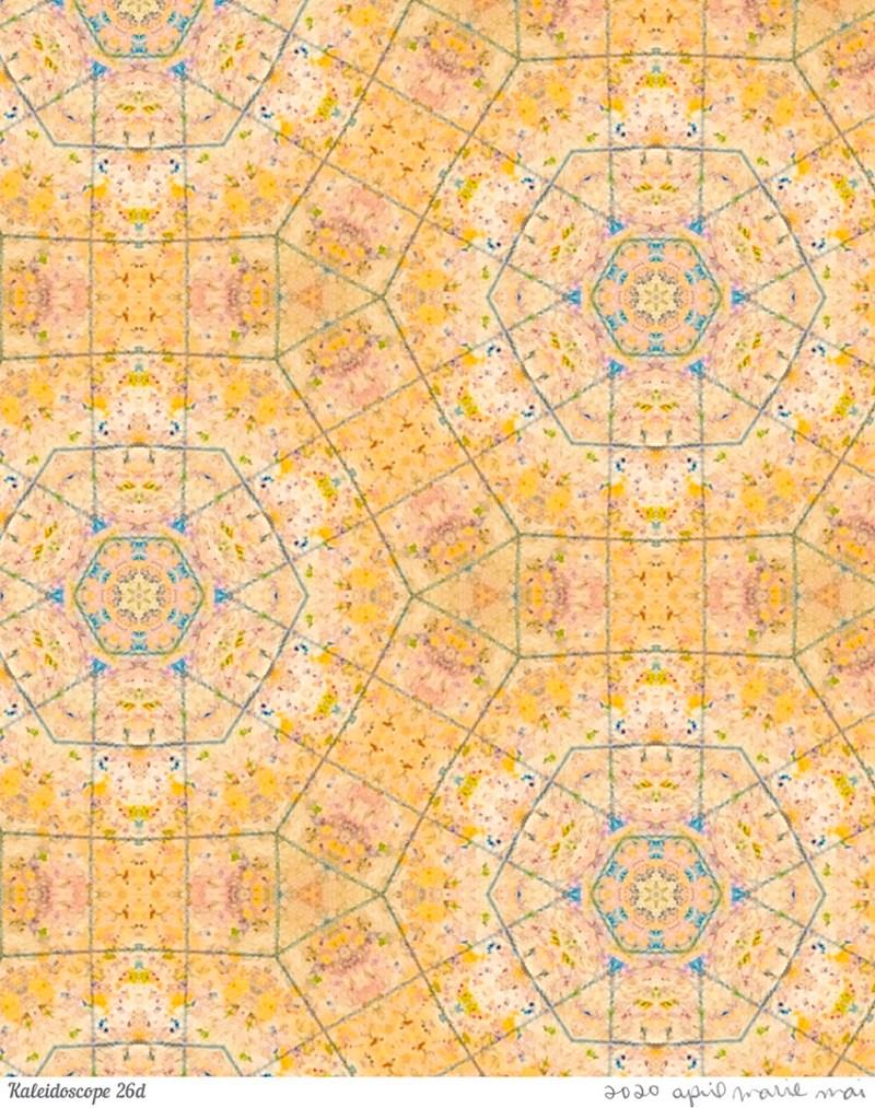 Kaleidoscope 26 Detail Print