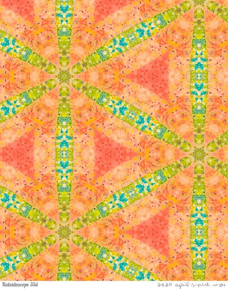 Kaleidoscope 35 Detail Print