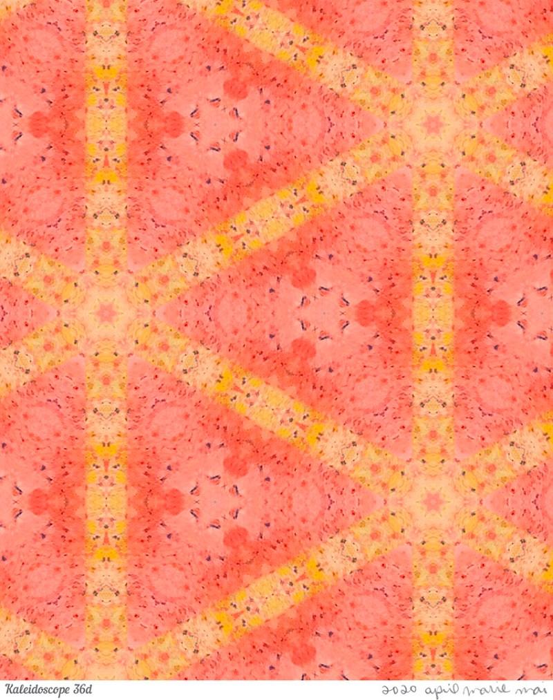 Kaleidoscope 36 Detail Print
