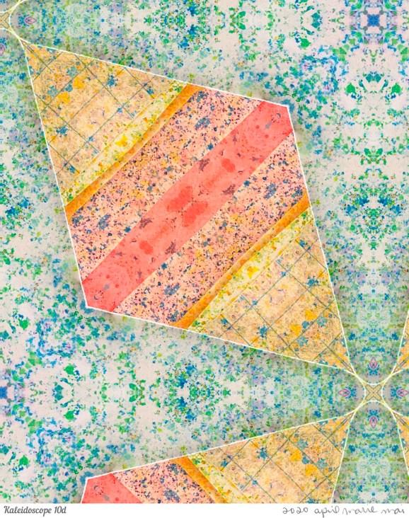 Kaleidoscope 10 Detail Print