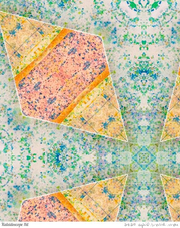 Kaleidoscope 11 Detail Print