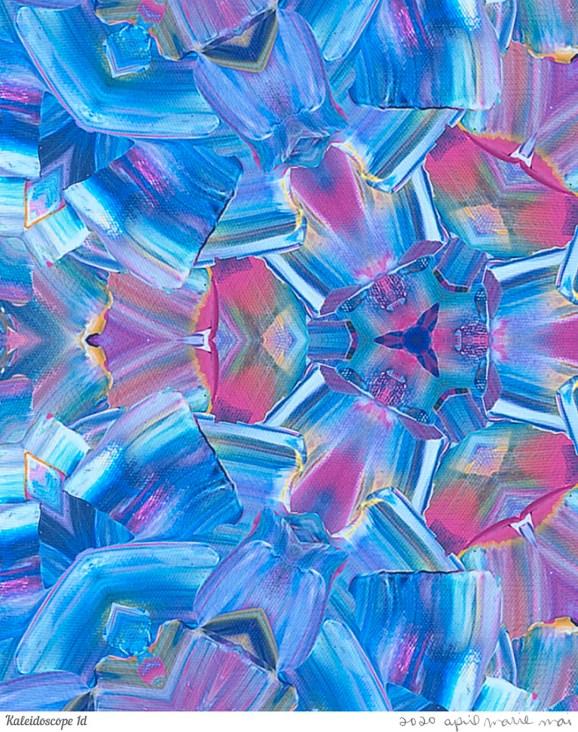 Kaleidoscope 1 Detail Print