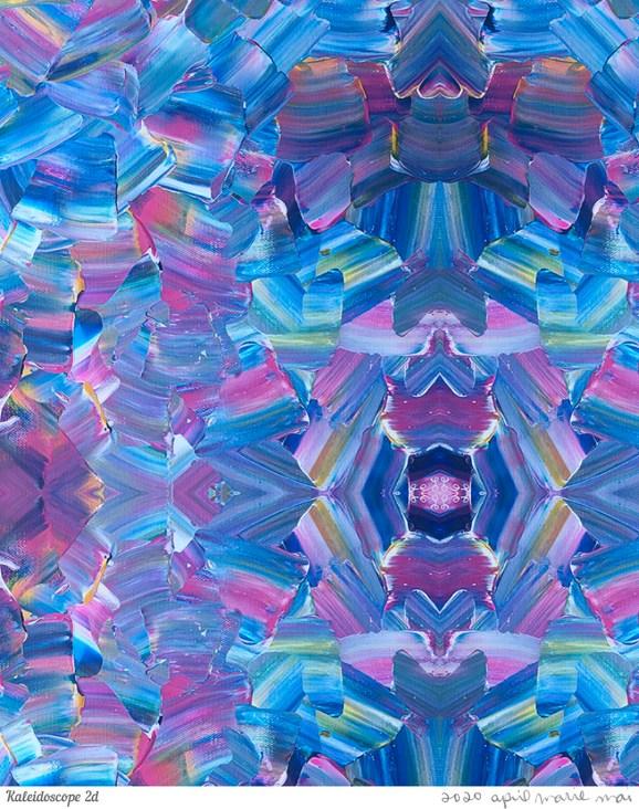 Kaleidoscope 2 Detail Print