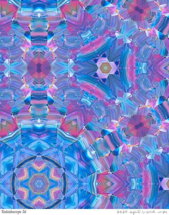 Kaleidoscope 3 Detail Print