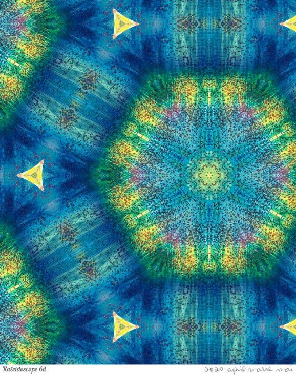 Kaleidoscope 6 Detail Print