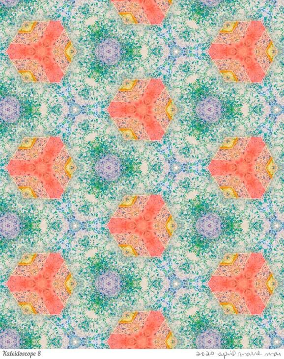 Kaleidoscope 8 Print
