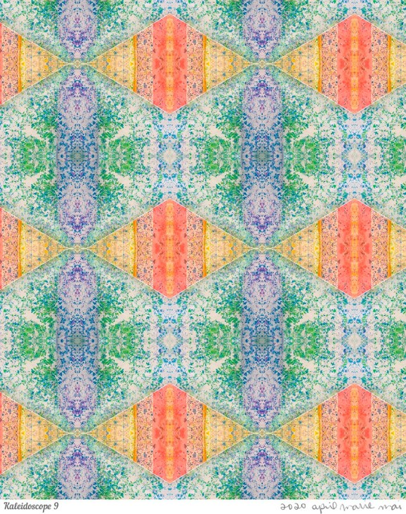 Kaleidoscope 9 Print