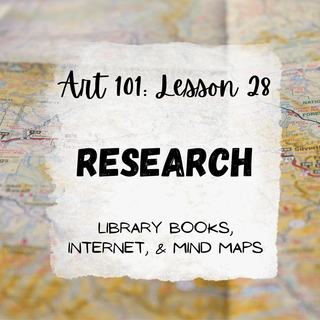 Research: Using Your Sketchbook & Research Materials