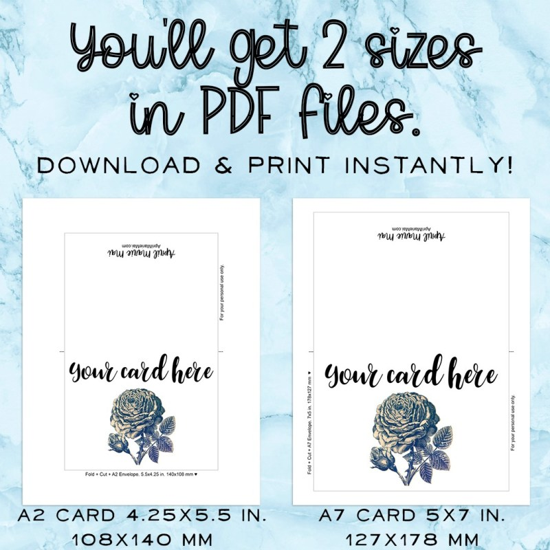 Best Friends Stick Together Cactus Printable Greeting Card Instant Download