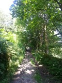 Bridleway leading to mills