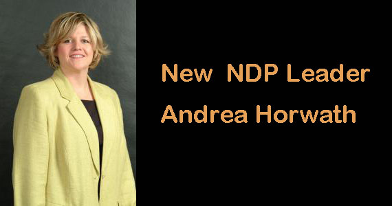 Congratulations to Andrea Horwath