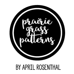 prairie grass patterns quilt shop logo