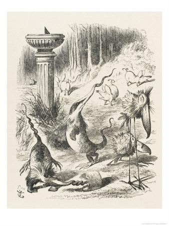 Toves, Raths and Borogroves by John Tenniel