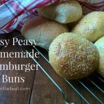 Easy Peasy Homemade Hamburger Buns