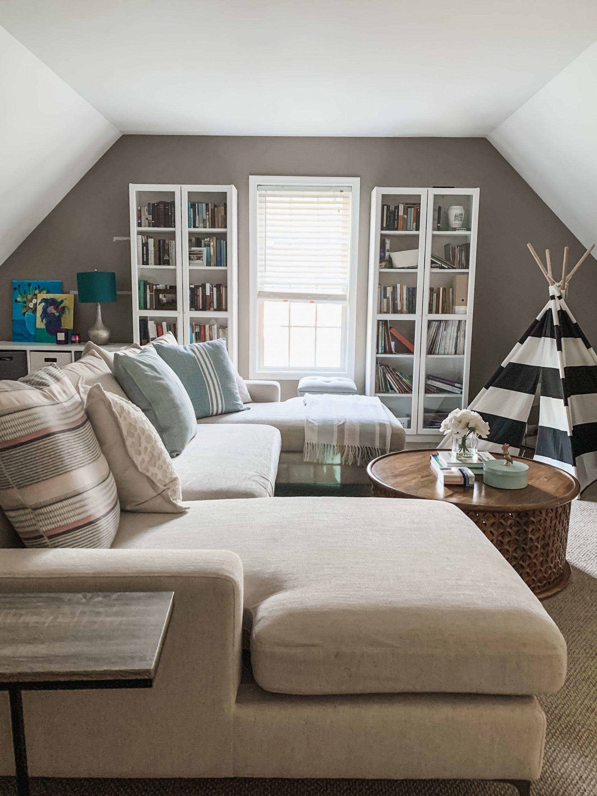 Family Room Interior Designer in Williamsburg, VA