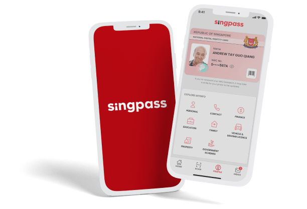 Singpass integration