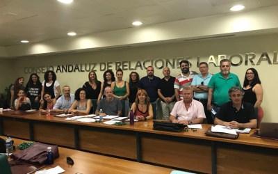 Firma del Convenio General de Sevilla y Provincia