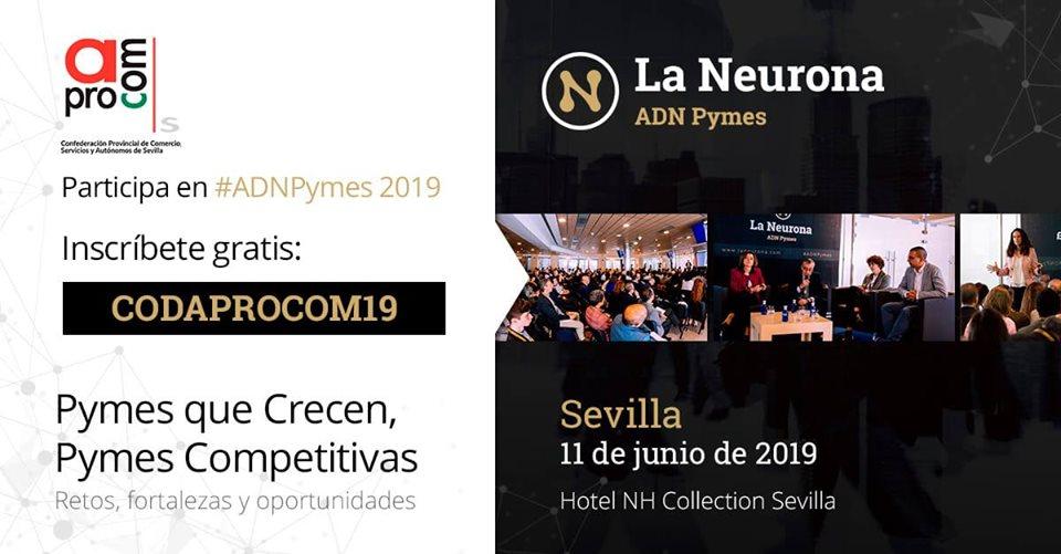 Aprocom participa en ADN PYMES, el primer evento para profesionales y pymes de la plataforma La Neurona