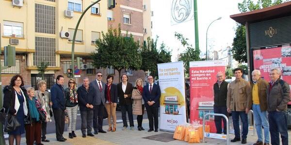 Aprocom asiste a la presentación de la campaña del Ayuntamiento de Sevilla de apoyo y promoción del comercio de proximidad y fomento del consumo en estos establecimientos para la Navidad