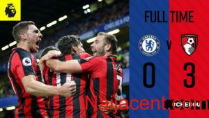 Video Chelsea vs Bournemouth 0-3 Highlights