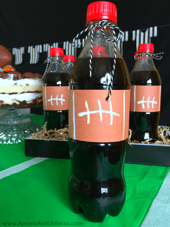 Football Game Day Party Idea #HomeBowlParty
