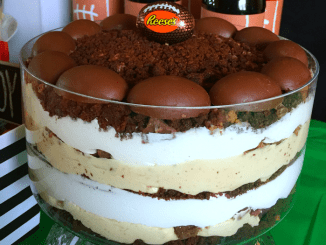 Peanut Butter Cream Trifle | Game Day Dessert