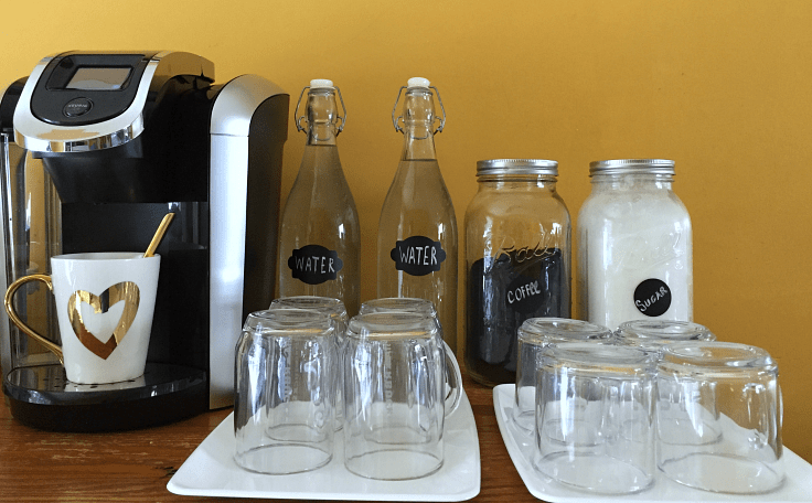 How to Organize Your Coffee Bar