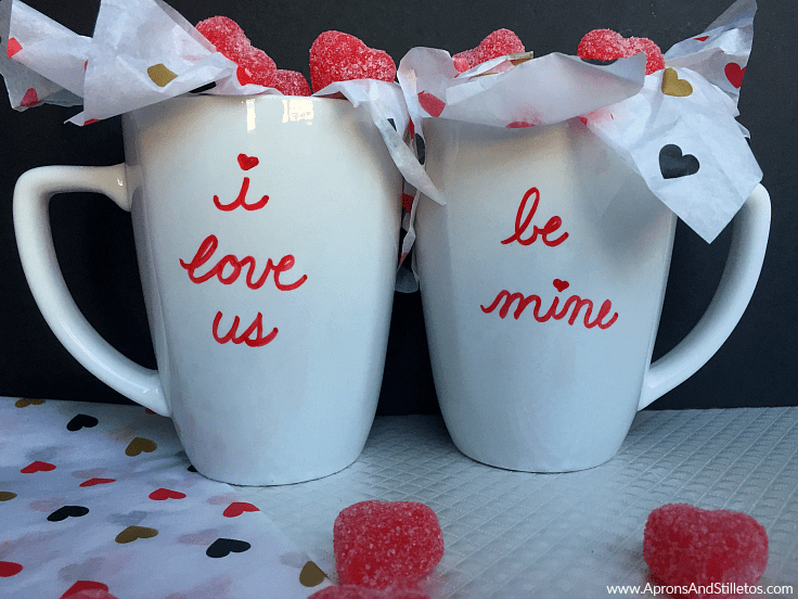His and Hers Valentine's Day Mugs