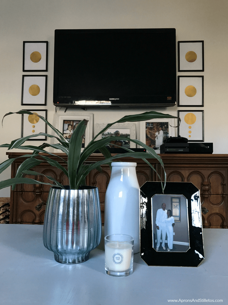 4 P's for prepping your living room for spring #ad #GladeAtmosphereCollection