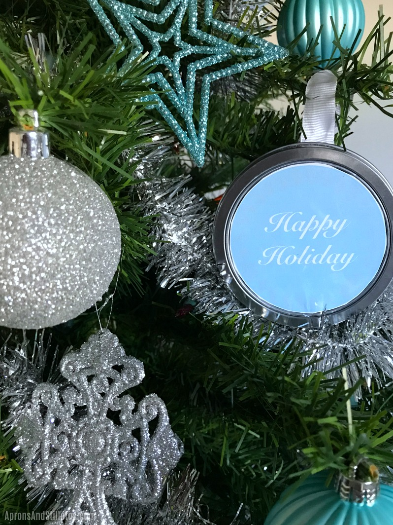 How to make a DIY Surprise in a Tin Ornament