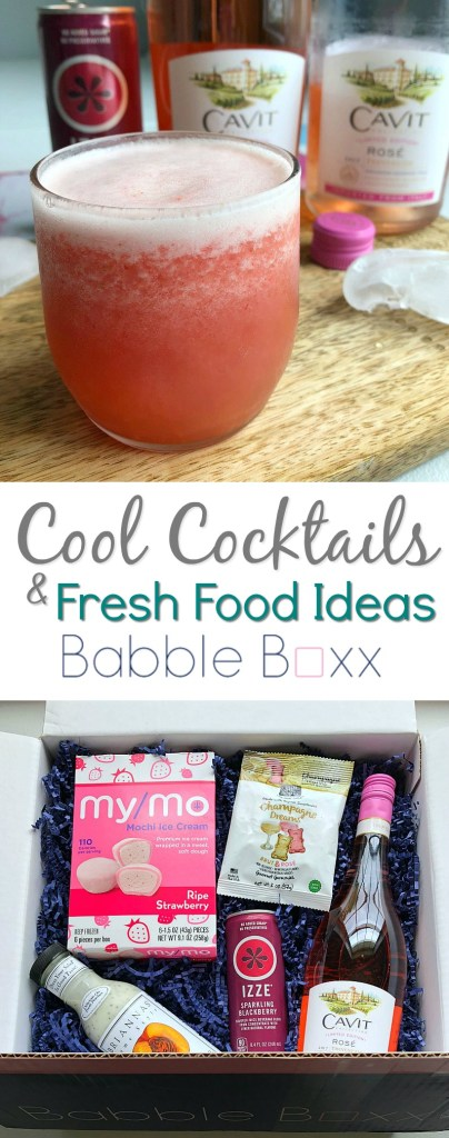 Cool Cocktails & Fresh Food Ideas Babbleboxx