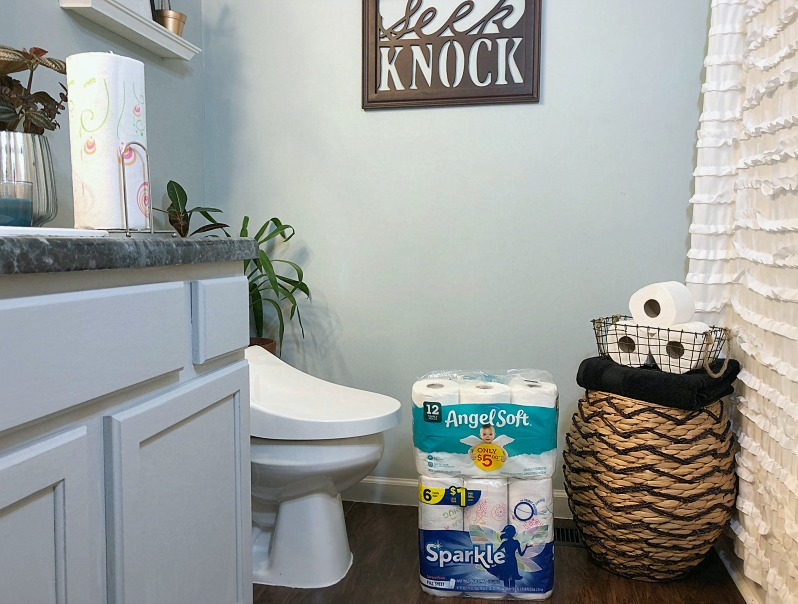 Game-Day Essentials for Your Guest Bathroom.
