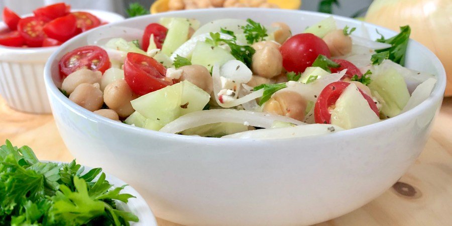 Sweet Onion Garden Bowl Salad