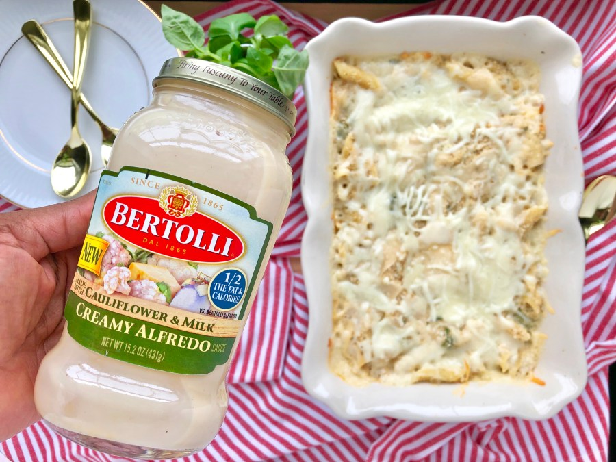 Oven-Baked Alfredo Pennoni & Cheese Sunday Supper