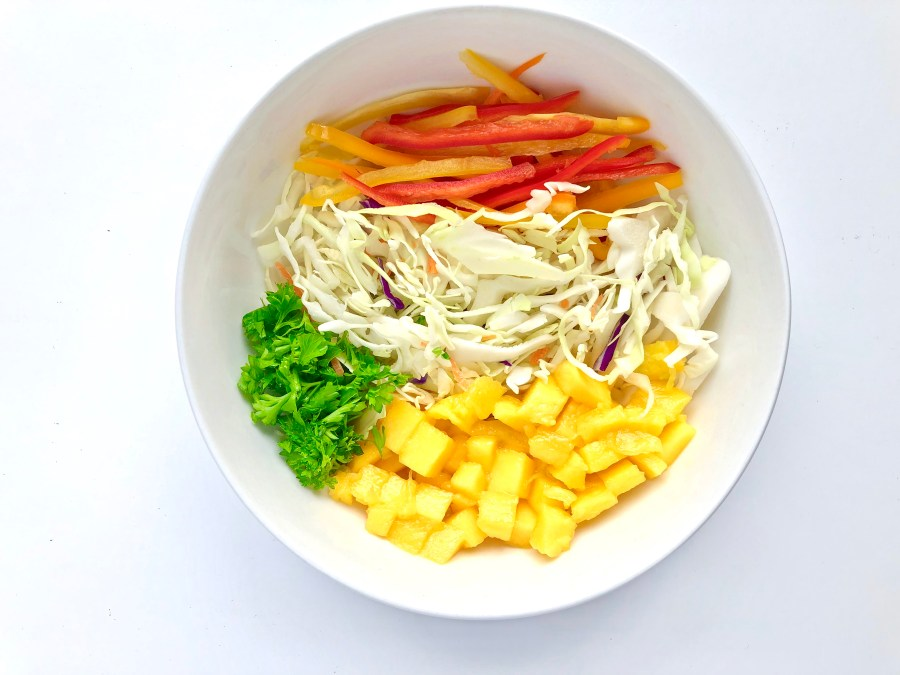Mango & Sweet Onion Slaw