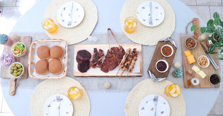 How to Create a Barbecue Grazing Table