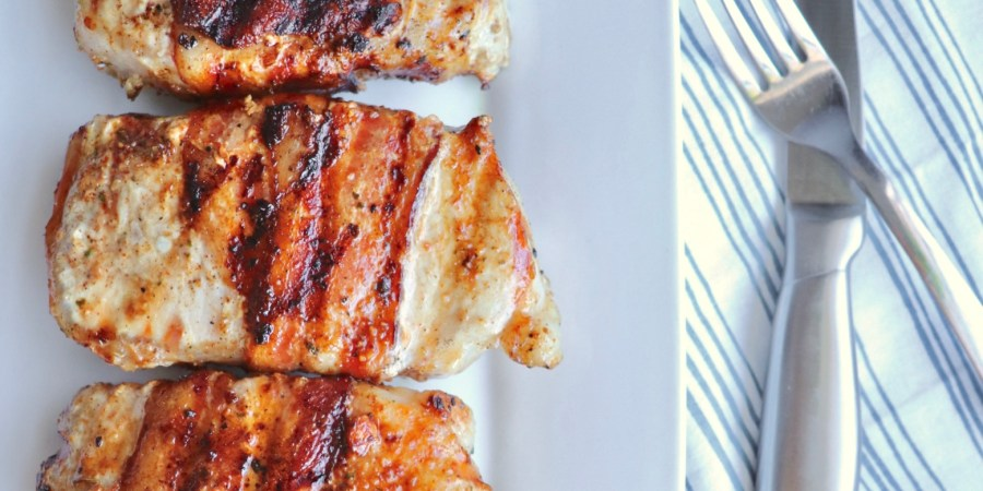 Easy Niman Ranch Bacon Wrapped Rosemary Pork Chops