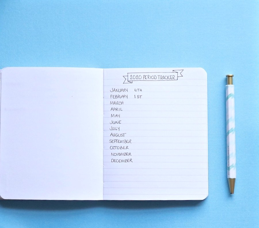 Lifestyle Habits We Track On Paper