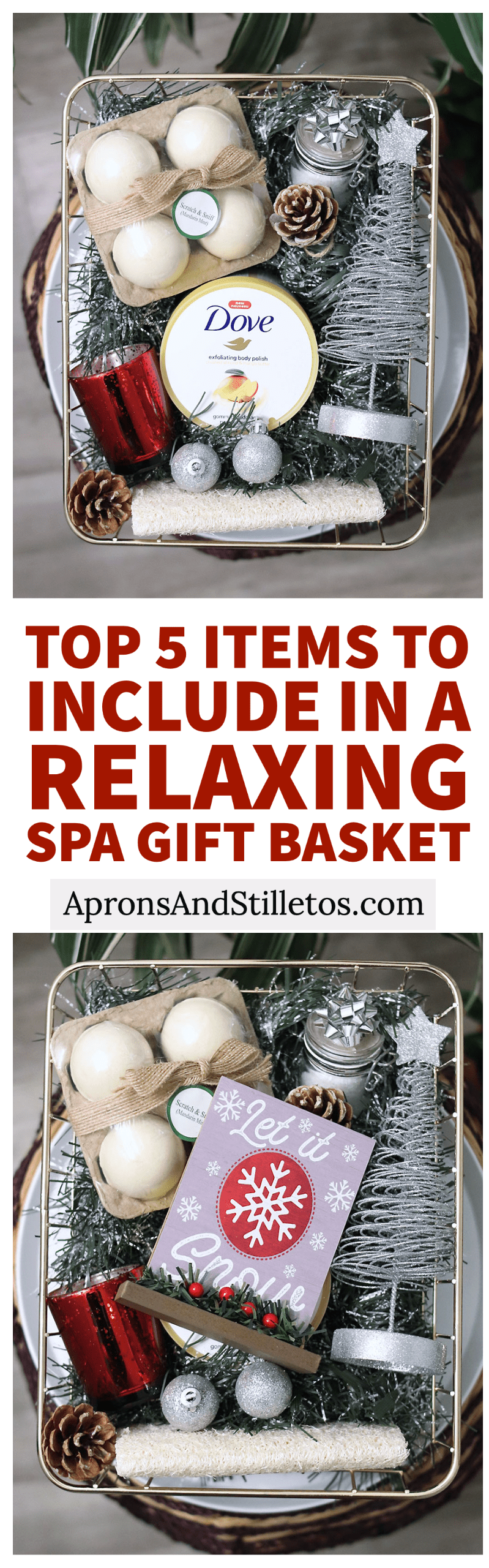 Top 5 Items To Include in a Relaxing Spa Gift Basket